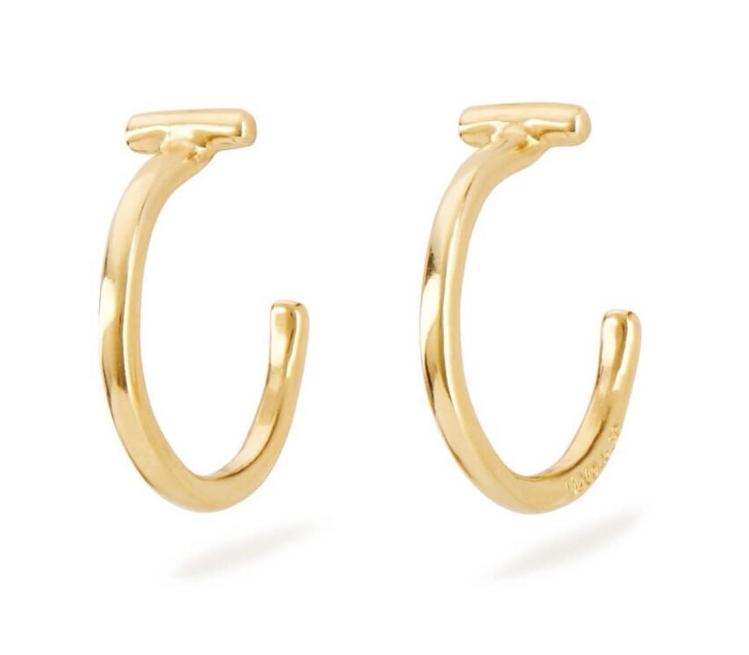 Uno de 50 It's Electrifying Earrings Gold
